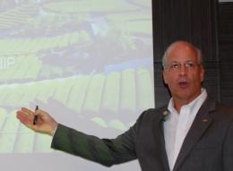 米国デュポン社農業製品事業プレジデント リック・L・ミラー氏が来日会見