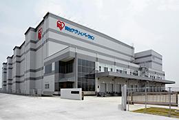 年間10万t精米の最新鋭工場