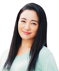 JA共済のイメージキャラクターを務める仲間由紀恵さん