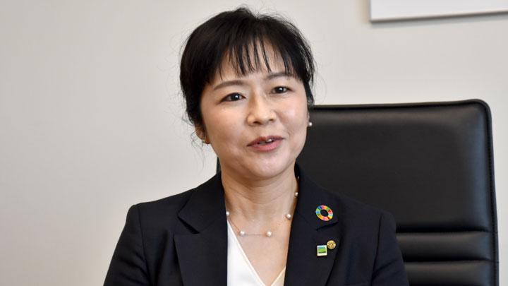 内海智江常務執行役員事務部門長