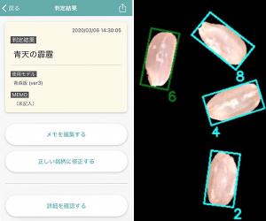 米の銘柄をAIで判定するスマートフォンアプリ