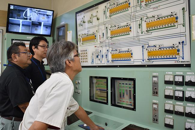 貯蔵中の環境を制御するコントロールセンター