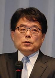 講演する増田寛也氏