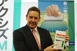 「日本農業に貢献できる」と期待するステファン社長