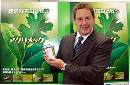 「新しいテクノロジーを日本農業に導入できる」と普及に期待するステファン・ティッツェ社長