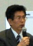 2月20日、TPPを慎重に考える会であいさつする同会会長に就任した篠原孝衆議院議員