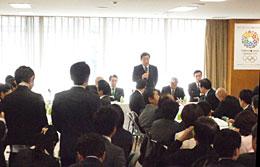 2月26日朝、自民党TPP参加即時撤回を求める会
