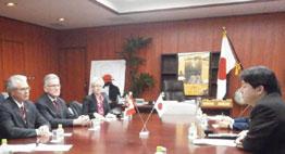 カナダのリッツ農業大臣と林農相の会談