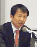 3月1日「TPPを慎重に考える会」で講演する韓国の弁護士、宋基昊(ソン・ギホ)さん