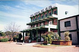 首都アスンシオン近郊にある日系農協中央会事務所