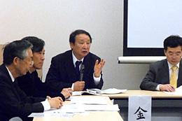 TPPの危険性を訴える金子勝教授