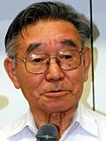 研究会への積極的な参加を呼び掛ける梶井会長