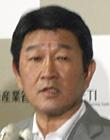 フロマンUSTR(米通商代表部代表)との会談後に記者会見する茂木経産大臣