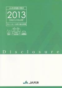 ディスクロージャー誌(情報公開誌)『JA共済連の現状2013』
