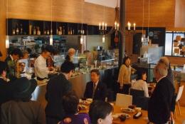 地元産の食材を使った料理で人気の旬彩レストラン「山ぼうし」