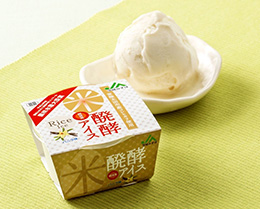 JA常陸「米発酵アイス」