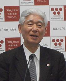 会長の熊倉功夫静岡文化芸術大学学長