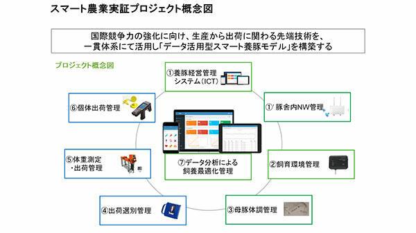 日本型スマート養豚の技術体系確立へ 実証プロジェクト開始