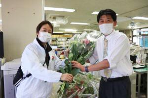 行政等と連携し花の購入を呼びかける-JA高知県