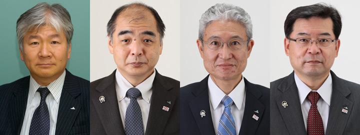 左から安田忠孝氏、神林幸宏氏、冨田 健司氏、尾本英樹氏
