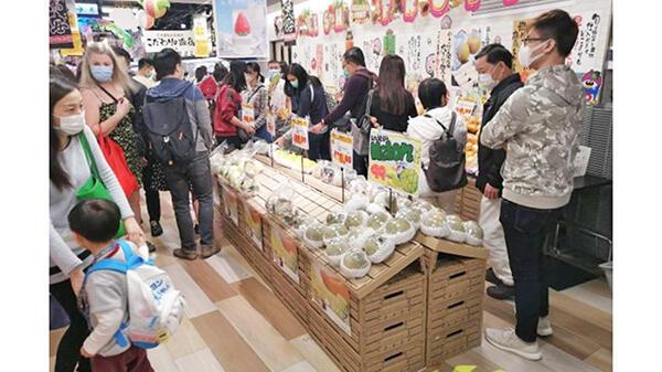 今年もアジア各地で春メロンフェア実施-JA熊本経済連