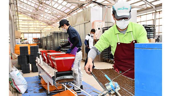 機械化で雑穀増産、供給責任果たす-JAグリーンサービス花巻