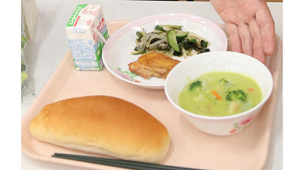 五輪提供目指した食材を学校給食に活用-JA鳥取西部