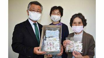 児童養護施設2か所に手作り布マスク寄贈ーJAほくさい女性部羽生支部
