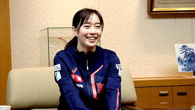 「最高のプレーを」石川選手「ニッポンの食」支援に活躍誓う JA全農