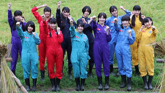 初の稲刈り体験を前に気合のはいるメンバー