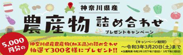 物件成約で「神奈川県産農産物」300人に ジェイエーアメニティーハウス