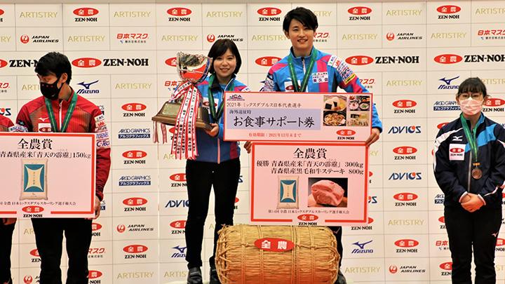 優勝の「吉田・松村」チーム