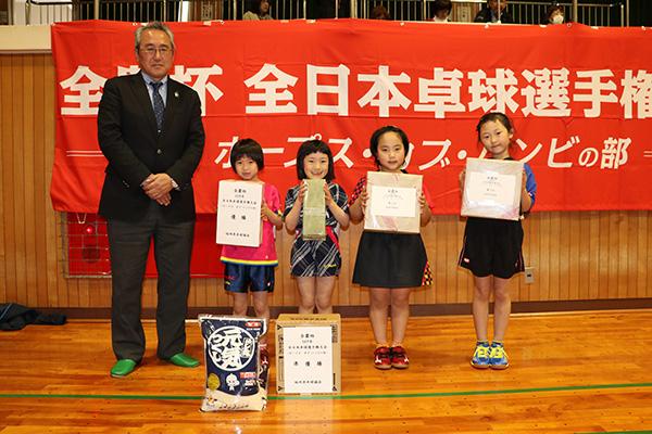 2019年福岡県大会の副賞贈呈