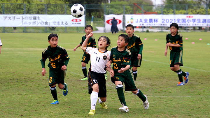 JA全農杯全国小学生選抜サッカー大会 四国大会は徳島ヴォルティスジュニアが優勝