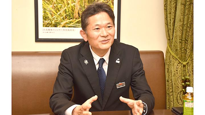 竹内仁フードマーケット事業部長