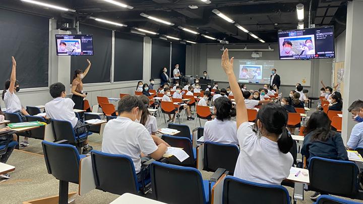 兵庫県JAたじまが香港日本人学校向けに「コウノトリ米」食育授業-農林中金