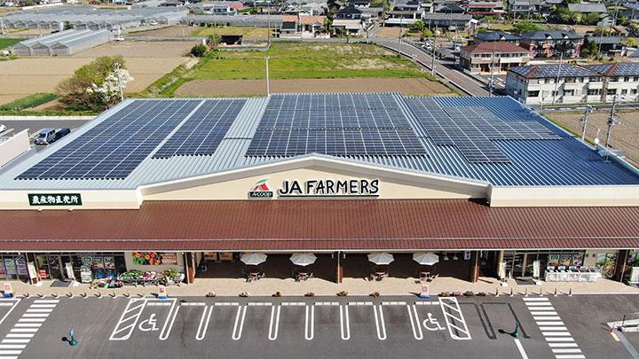 Aコープ東日本が運営する群馬県のJAファーマーズ型3店舗