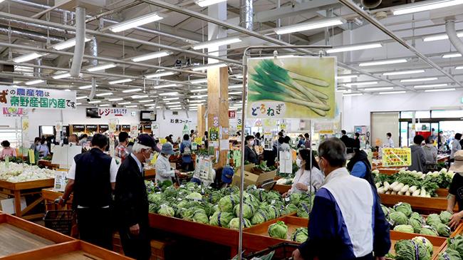 「地域との共生」-市民に新鮮な野菜を供給する「じばさんず」