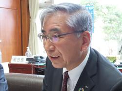 山崎重利代表理事組合長