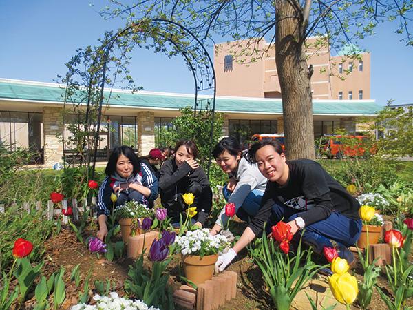 園芸を学ぶ(厚木キャンパス)