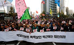 韓国で新自由主義に反旗 大統領退陣へ大規模デモ|クローズアップ ...