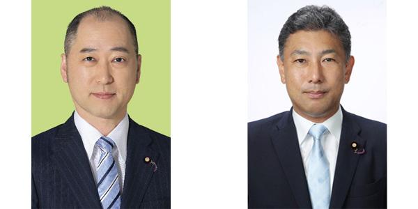 宮崎政務官・熊野政務官