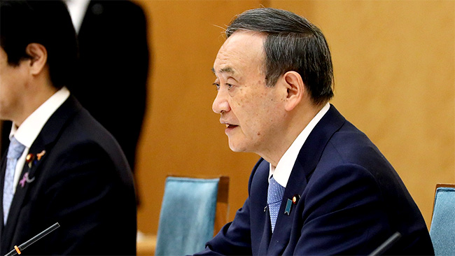 発言する菅総理