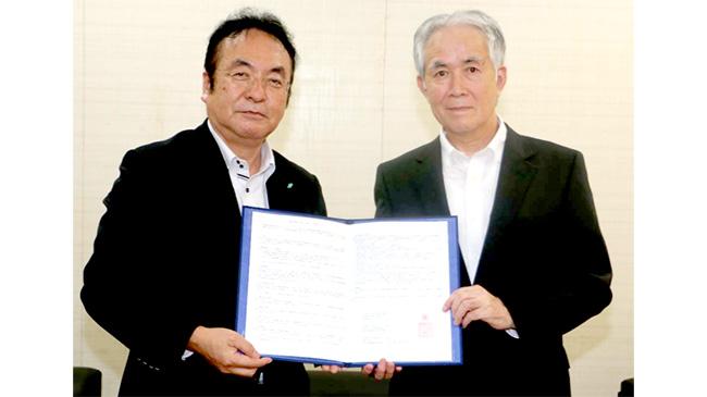 収入保険加入推進で業務連携 NOSAIと日本政策金融公庫