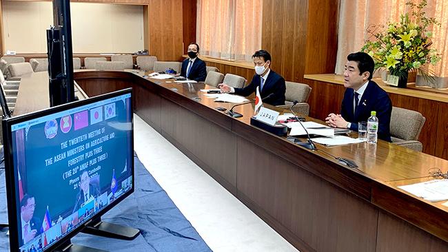 ASEAN+3農相会合に出席した野上農相