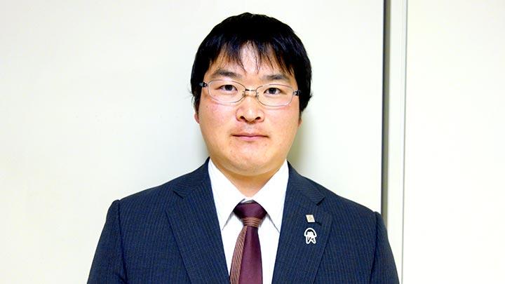 福島県農協青年連盟 折笠明憲委員長