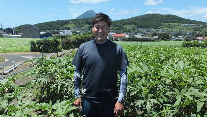 山川地区のそらまめ経営:西山 尚吾さん(35歳)