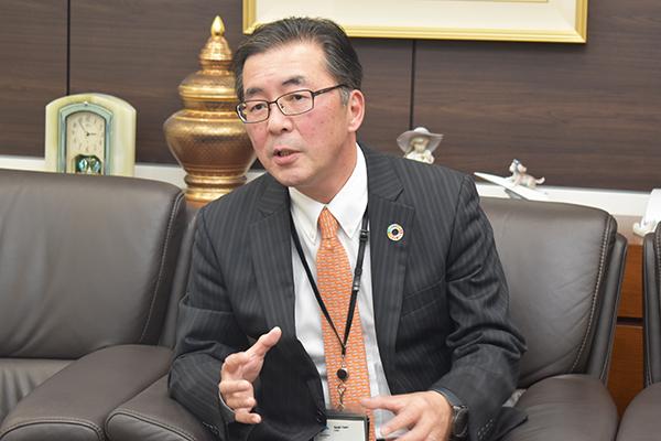 生産者をサポートし消費者のために 小澤 敏 三井化学アグロ(株)代表取締役社長