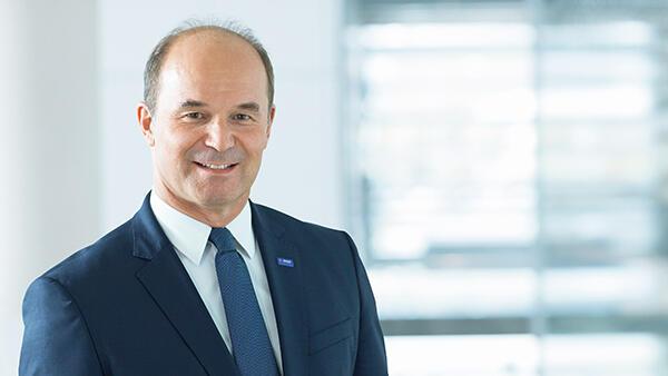 BASF取締役会会長のDr. マーティン・ブルーダーミュラー氏