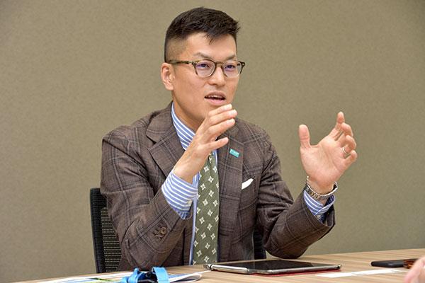 BASFジャパン(株)アグロソリューション事業部営業部 古庄康一部長